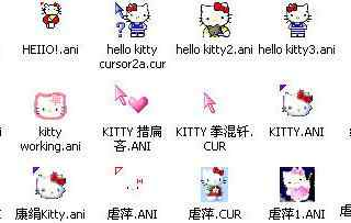 创意卡通kitty猫w