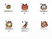 经典动漫形象加菲猫鼠标指针主题包下载