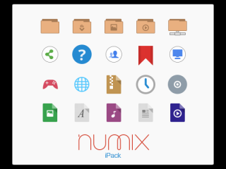 Numix iPack图标