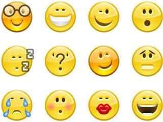 可爱黄色emoji表情包