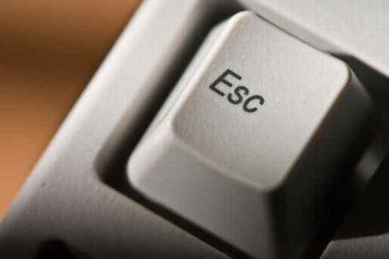 Esc键五大妙用小
