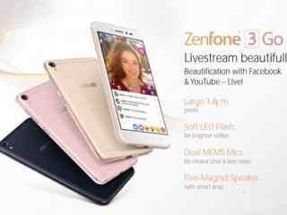 华硕神器-直播美颜机 ZenFone 3 Go配置曝光