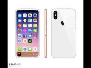 iPhone 8新配色:白色与玫瑰金结合
