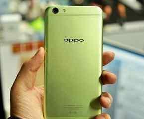 清新绿OPPO R9s真机现身 小清新你要吗?