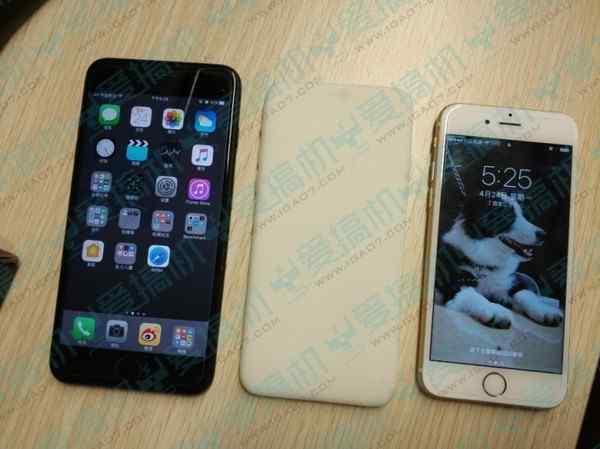 iPhone 7c后置指纹识别