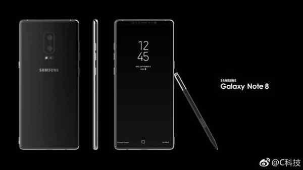 三星Note8概念设计 未来的手机就这样