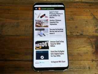 三星Note8采用S8同款屏幕 超大屏占比