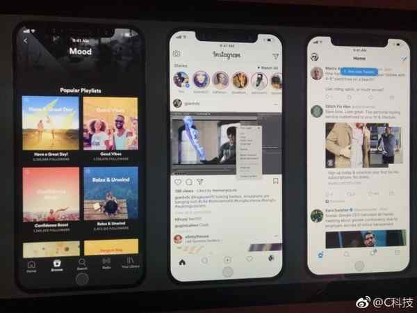 iPhone 8亮屏界面曝光