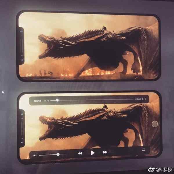 iPhone 8观看影视界面