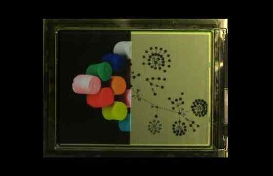 光子墨水实现彩色电子纸 可以调制成各种颜色