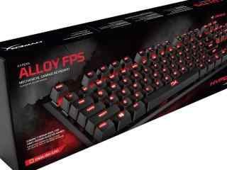 酷炫的金士顿机械键盘 HyperX樱桃轴加持来了!