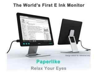 上班族福音 墨水屏即将用于电脑显示器