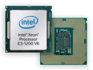 Intel至强E3-1200 V6处理器发布:性能提升 功耗下降