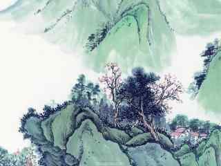 中国风必赢国际娱乐官网_风水墨画壁纸