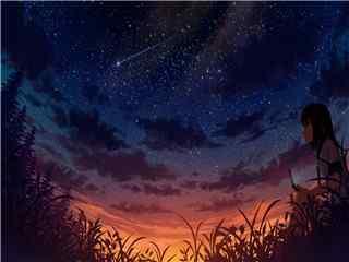星空高清桌面壁纸 星空图片
