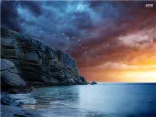 大海高清桌面壁纸 大海图片