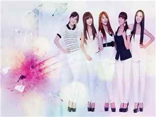 韩国青春美女组合高清壁纸 韩国美女 韩国美女图片