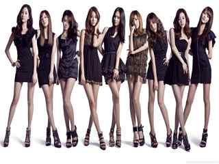 少女时代组合高清壁纸 长腿美女壁纸 少女时代图片