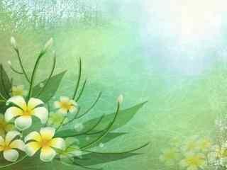 炫彩花卉风格壁纸
