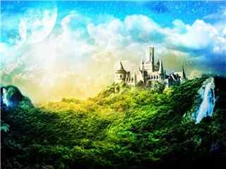魔幻城堡壁纸 梦幻城堡 魔法城堡 城堡图片第一辑