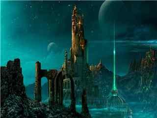 魔幻城堡壁纸 梦幻城堡 魔法城堡 城堡图片第二辑