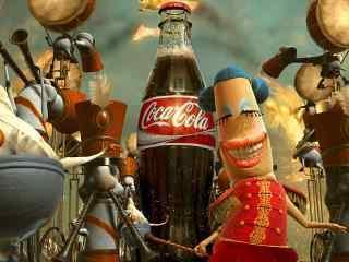 可口可乐创意壁纸 可口可乐公司 可口可乐广告