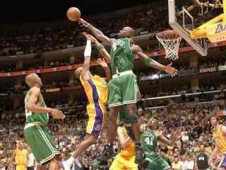 硬气狼王加内特桌面壁纸 NBA人物壁纸