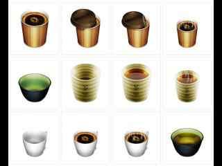 别致的咖啡杯高清壁纸 星巴克杯子壁纸