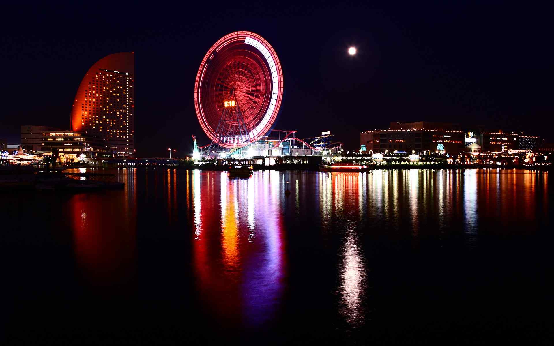 日本城市美景图片 日本著名景点风光高清壁纸 日本自然壁纸