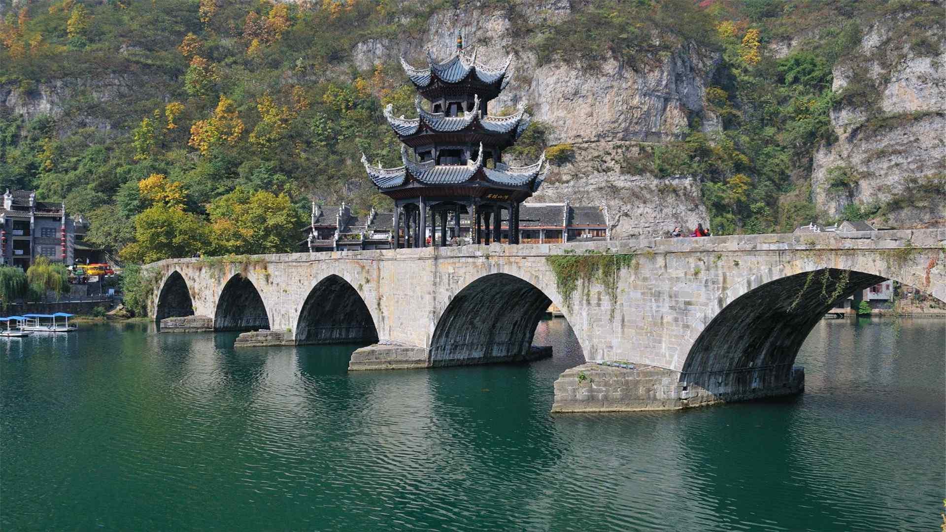 贵州旅游 旅游圣地贵州高清桌面壁纸