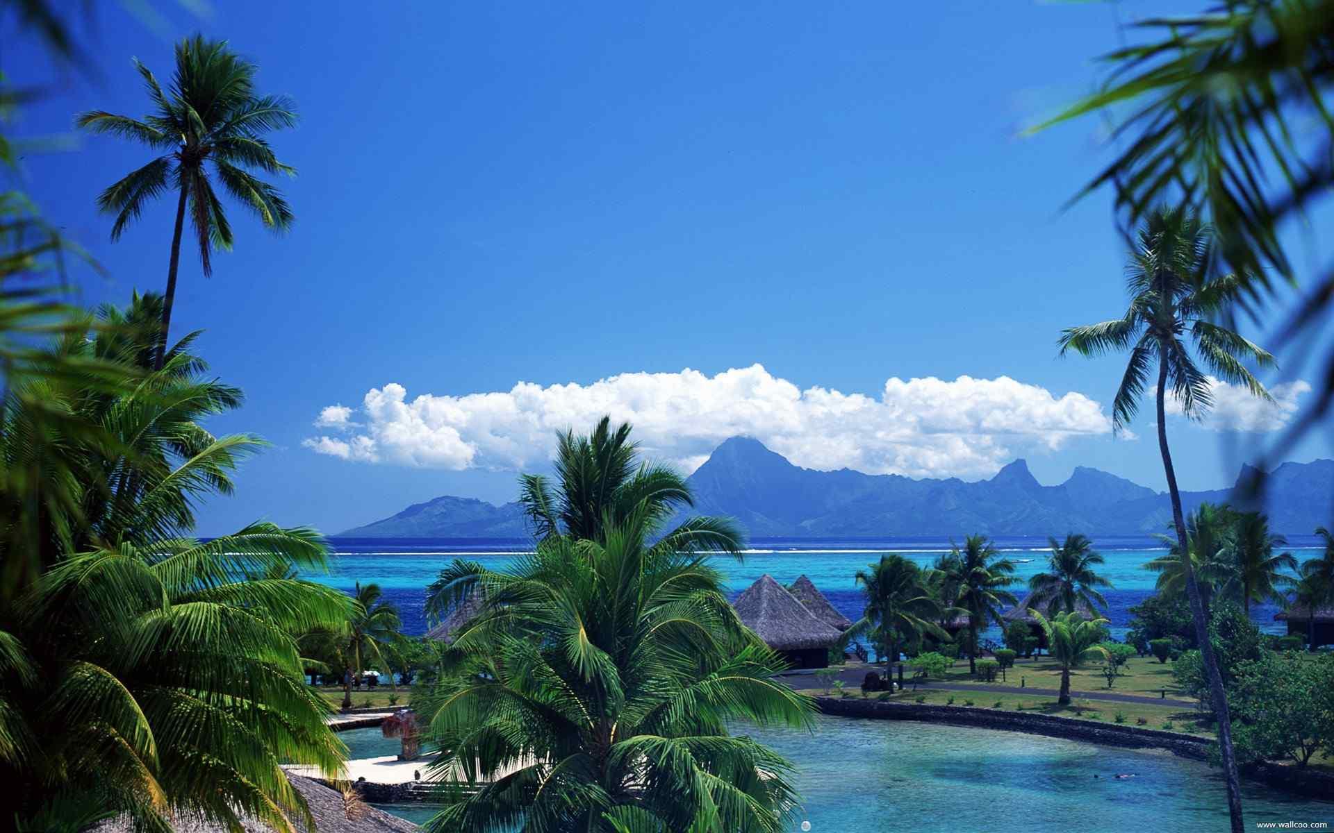 国外美丽海岛风光图片高清电脑桌面壁纸 海岛图片
