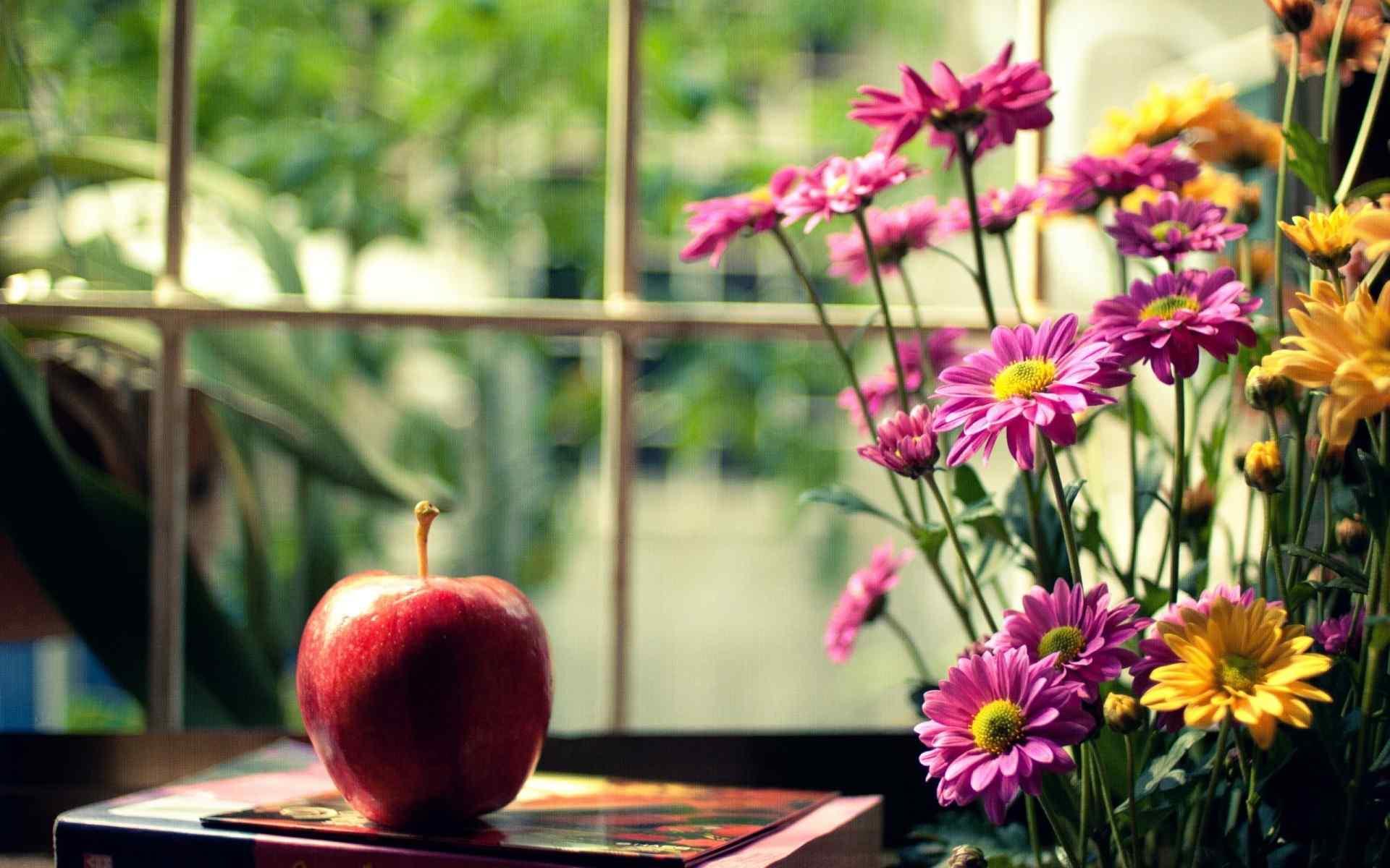 水果苹果壁纸 苹果高清图片 苹果摄影特写