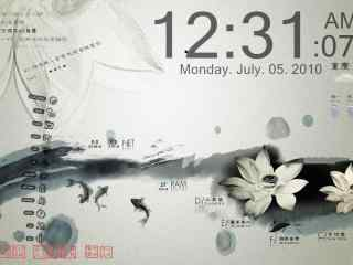 复古主题桌面秀 复古色调主题 中国风桌面秀