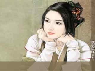 古装美女高清壁纸 古装风格女星图片 小清新古装美女照