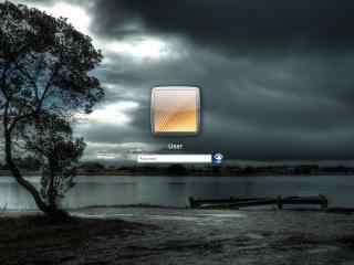 天空xp登录界面 清新美景登录界面下载  win7登录界面