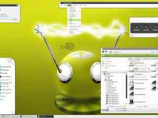 简约时尚白色xp主题下载  白色xp系列电脑主题下载  白色电脑主题