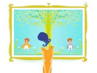 手绘可爱美女 手绘古装美女 手绘时尚美女插画