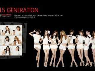 少女时代成员图片  韩国组合少女时代美女壁纸