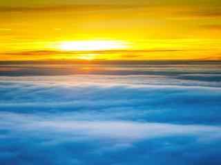 山峰云海风景高清图片 云海奇观电脑桌面  云雾朦胧桌面壁纸
