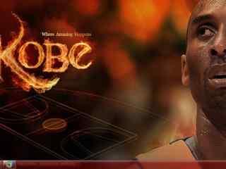 篮球运动员科比退役高清图片 最后一站科比桌面 科比壁纸
