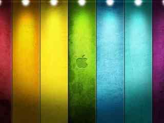 创意苹果壁纸 时尚创意苹果壁纸 炫彩苹果壁纸