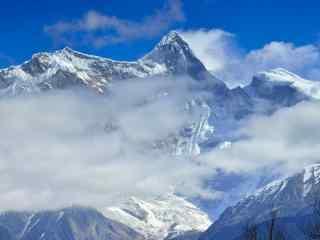 西藏自然风光壁纸 西藏沙漠风景 美丽的西藏
