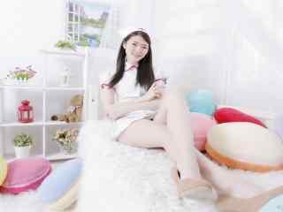 美女护士制服诱惑壁纸 OL制服美女性感写真 制服丝袜美女