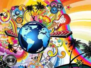 炫酷创意桌面壁纸 酷炫人物创意壁纸 炫酷图片
