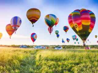 热气球图片下载 天空热气球壁纸 热气球摄影