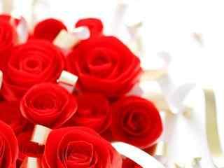 七夕鲜花装饰电脑桌面壁纸 七夕唯美浪漫花束电脑壁纸 七夕情人节创意桌面壁纸