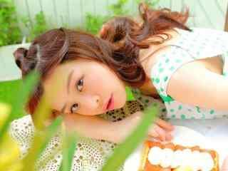 甜美女孩摄影壁纸 清纯美女甜美写真 甜美笑容少女壁纸