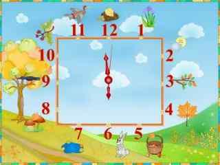 精美时钟设计屏保 手绘可爱时钟屏保 个性时钟屏保