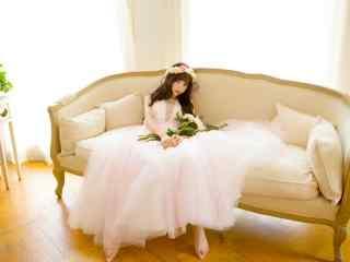 甜美少女私房写真壁纸 日系梦幻美少女桌面壁纸