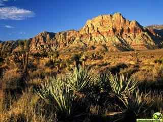 连绵山脉摄影桌面壁纸  草原山脉风景壁纸